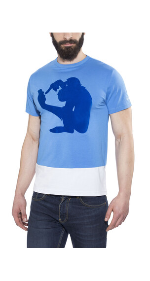 Nihil Social Monkey Tee Men Vista Blue